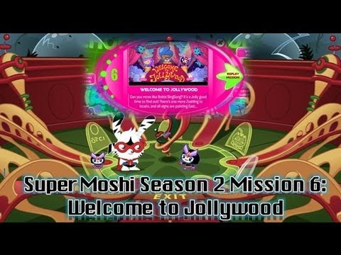 Moshi Monster Cheats: Super Moshi Season2 Mission 6 - Welcome to Jollywood