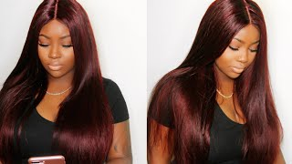 Baixar Color Hair Burgundy Without Bleach Tutorial | Ali Pearl