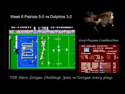 Steve Grogan Challenge Wk 5 vs Miami (EPIC)