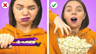 11 FUNNY FOOD HACK IDEAS! Crazy Tricks, Tips, Pranks, and More!
