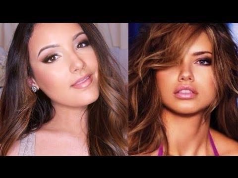 Adriana Lima Inspired Makeup | Victoria's Secret Angel