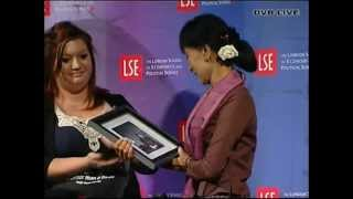 """Dvb tv live - 19 june 2012 lse discussion roundtable on """"rule of law"""" with daw aung san suu kyi"""