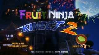 Fruit Ninja Kinect 2 Xbox One gameplay Quickplay Arcade