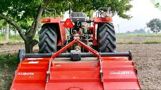 KUBOTA KRMU 211 Rotavator 4WD Kubota MU5501 55 HP New Tractor