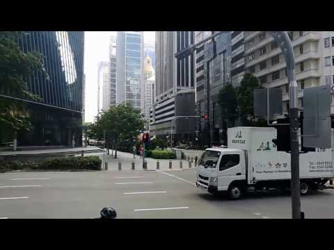 Raffles Place CBD Area Singapore
