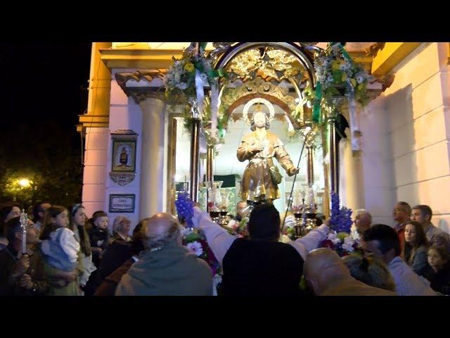 Tradicional búsqueda y traslado de San Isidro desde su Ermita hacia su Casa Hermandad