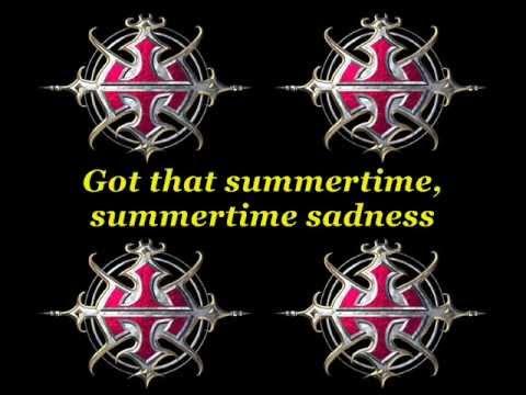 Within Temptation - Summertime Sadness (Lana Del Ray Cover) [Lyrics]