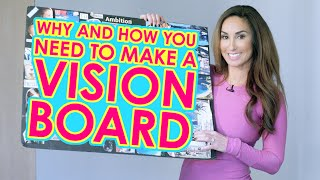 Why & How You Need to Make a Vision Board | Natalie Jill