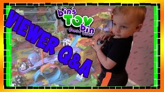 Teagan Plays with Cars & Viewer Q&A!!! 2.27.2016 | BinsToyBin Daily Vlogs