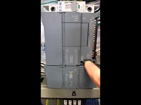 Loading an S7-1200 PLC from SD Card