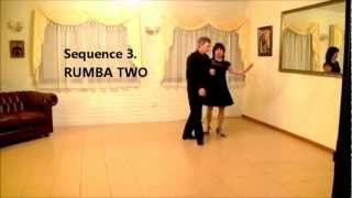 Rumba Two New Vogue Partner Sequence Dance Clare & Joe Australia Shanthie De Mel You Tube