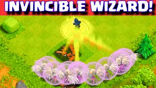 Clash Of Clans INVINCIBLE WIZARD ATTACKS (TOP 5 RAIDS) ALL HEALERS + 1 WIZARD