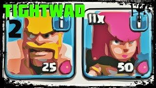 Clash of Clans: TightWad 2 - Barbarian + Archer Setup