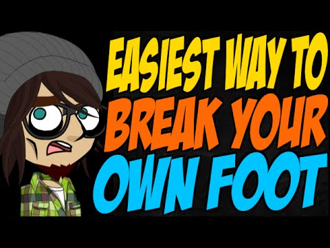 How easy is it to break an ankle?