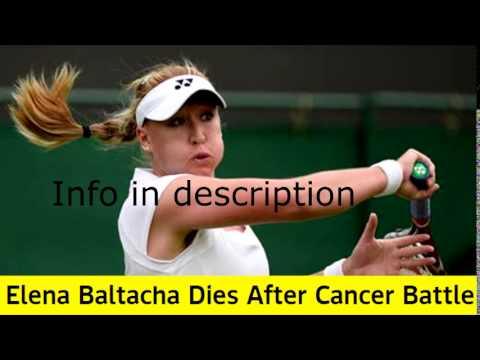 Breaking News: Elena Baltacha Dies After Cancer Battle