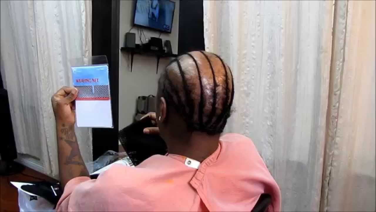 Weaving techniques for alopecia hair loss youtube pmusecretfo Image collections