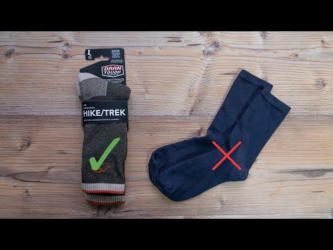 Why Should You Wear Technical Socks?