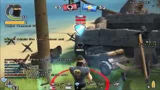 Battlefield Heroes 2015 Gunner Gameplay Part1