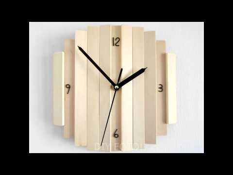 🔔 Unusual wooden clock! 50 DIY ideas! Part 1!