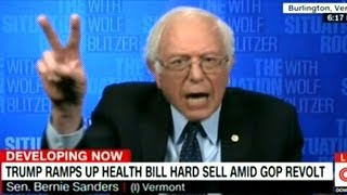 "Bernie Sanders ""What The Republicans Are Doing Should NOT Be Seen As Healthcare Legislation!"""