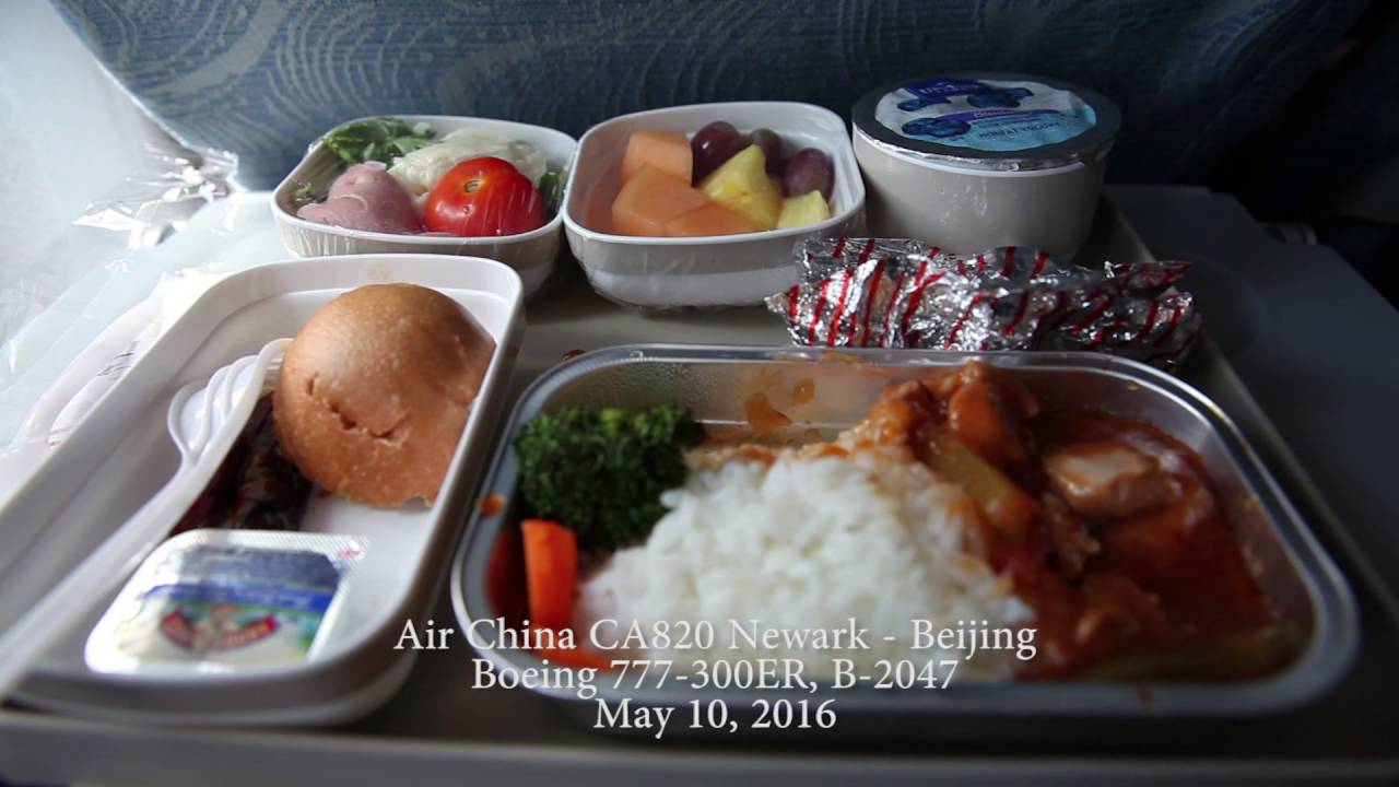 Air China Ca820 New York Newark Kewr Beijing Zbaa