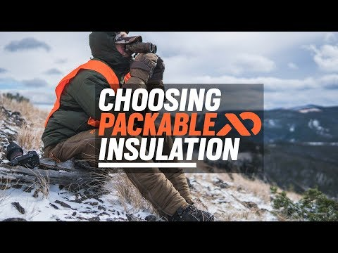 Choosing Packable Insulation