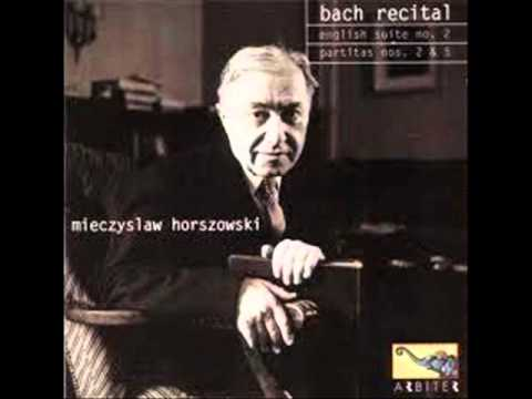 Mieczyslaw Horszowski plays Bach Partita No. 2 in C minor