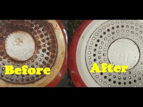 How to Clean the Bottom of a Pot or Pan - 2019 | How to Clean your Pot with Baking Soda and Vinegar