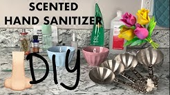 DIY SCENTED HAND SANITIZER - Make Hand Sanitizer @ Home w/ Perfume - Hand Sanitizer that SMELLS GOOD