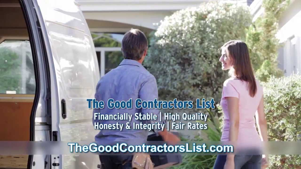 The Good Contractors List - Our Contractors Code of Ethics