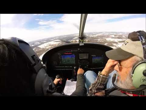 Flight Lesson - Pattern Work in an Evektor Sportstar LSA