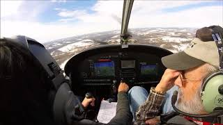 Flight Lesson - Pattern Work in an Evektor Sportstar LSA
