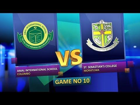 TV 1 Pentathlon | Season 2 | EP 11 | Amal International School  VS St. Sebastian's College