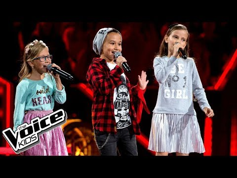Radecka, Szot, Kicińska - 'Uh La La La' - Bitwy - The Voice Kids Poland 2