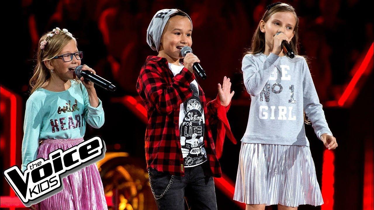 """Radecka, Szot, Kicińska - """"Uh La La La"""" - Bitwy - The Voice Kids Poland 2"""