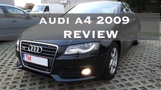 Audi A4 B8 2009 - Review (multitronic)