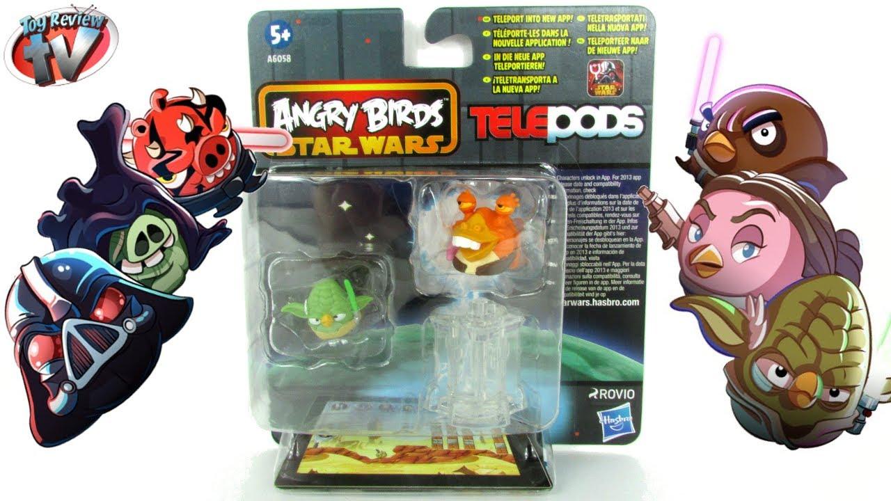 Набор 2373e24a angry birds star wars.