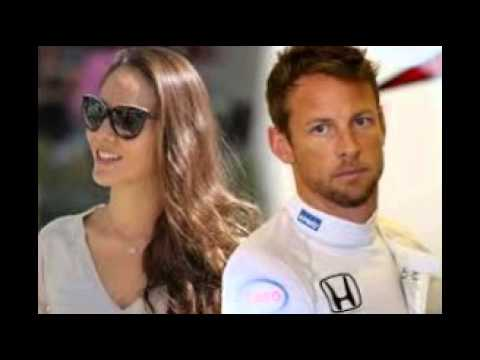 Jenson Button And Jessica Michibata In 'amicable' Split As They Have 'discussions Over F1 Driver