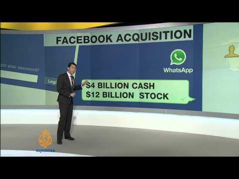 Facebook to buy messaging network WhatsApp