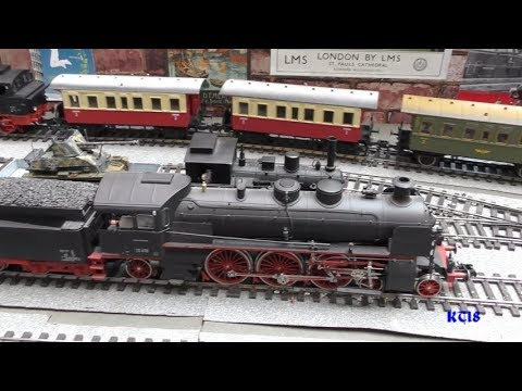 Solent Model Railway Show 2018   Part 1