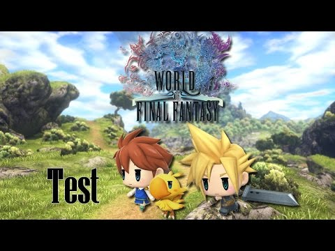 [FR] Vidéo TEST de World of Final Fantasy by BKC Diamond