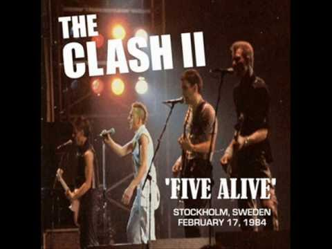 The Clash Pouring rain