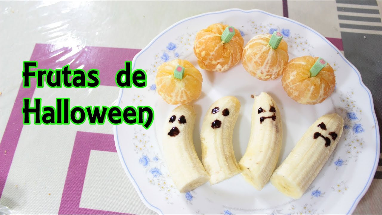 Frutas de halloween recetas de halloween manualidades - Postres con frutas faciles ...