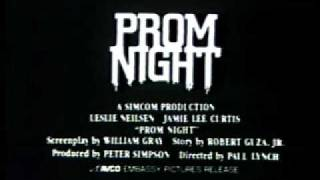 Prom Night 1980 TV trailer #1