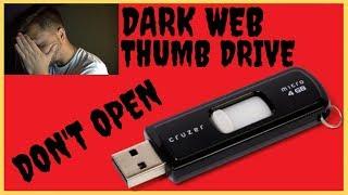 Dark Web Mystery Box USB Drive Reaction(Warning)