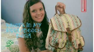 What is in my Summer Pool/Beach Bag?! Thumbnail