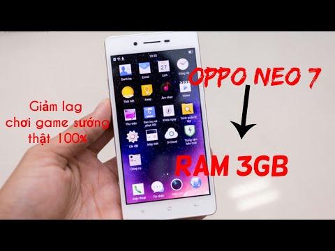 Oppo neo 7 l Cách làm điện thoại chạy mượt như ram 3GB