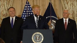 Pres. Trump Addresses Border Family Separation At Meeting  With National Space Council | Abc News