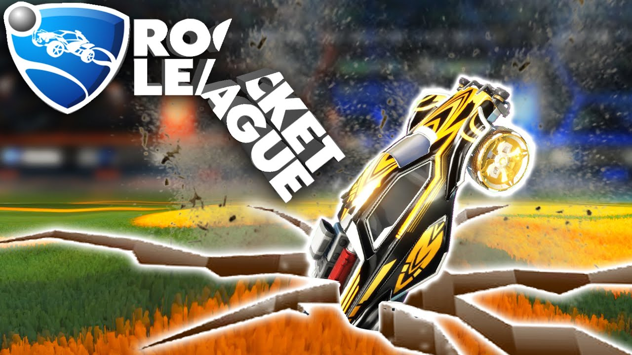 ROCKET LEAGUE, BUT THE ENTIRE FIELD IS BROKEN thumbnail