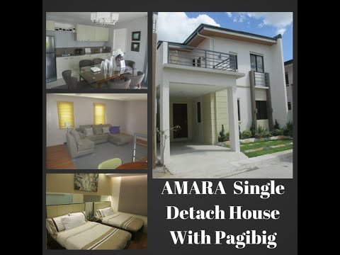 Affordable Amara Single Detach House and Lot Tungko Bulacan